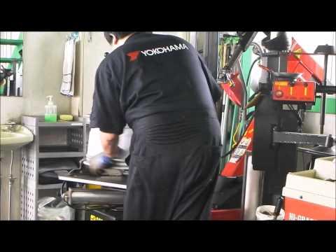 BMW X5 ランフラットタイヤ交換