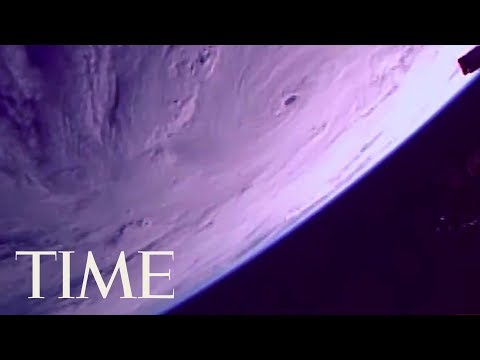 Views Of Hurricane Maria From The International Space Station: The Storm Looks Massive | TIME