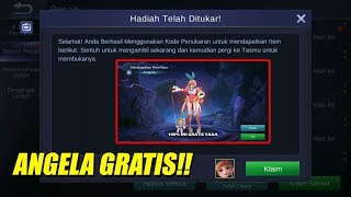 Download Lagu HEBOH! EVENT TERSEMBUNYI MOBILE LEGENDS BISA DAPET IPHONE X DAN HERO ANGELA GRATIS !!! Mp3