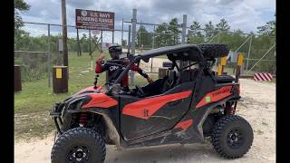 6. Can Am Maverick Trail 1000 DPS - Ocala National Forest