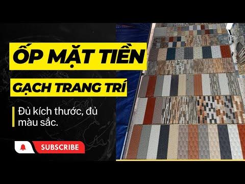 Gạch trang trí ốp mặt tiền 30x60 cao cấp giá rẻ|Gạch 30x60 giá rẻ
