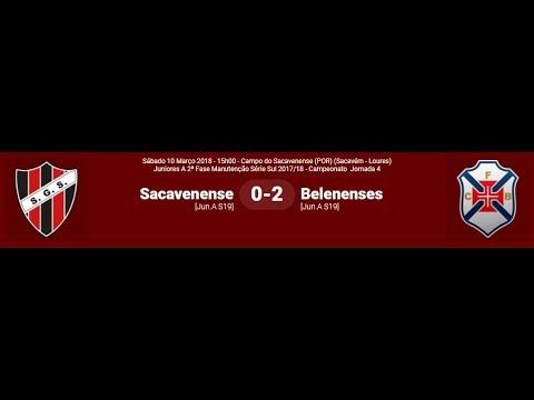SG Sacavenense - CF Belenenses 2017/2018