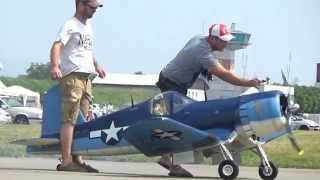 Rc Biggest F4U Corsair 400ccm Super Moki