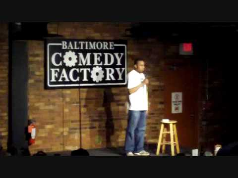 Comedian Jason Weems at the Baltimore Comedy Factory 2 of 3