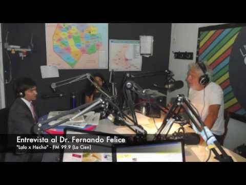 Entrevista al Dr Fernando Felice de Lalo Mir