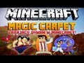 Minecraft 1.8 Mody - Magic Carpet Mod - Latający Dywan w Minecraft!?