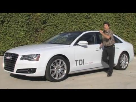 2014 Audi A8L TDI Test Drive and Video Review