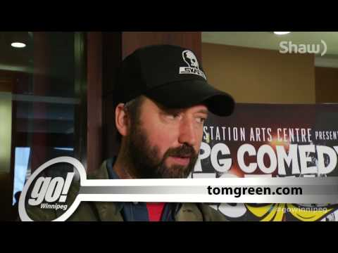 Tom Green at 2014 Comedy Festival