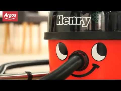 Red Numatic Henry HVR200 Bagged Cylinder Vacuum Cleaner Argos Review