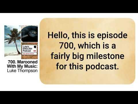700. Marooned with my Music:  Luke Thompson