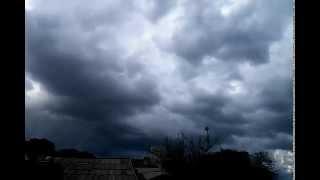 Cumulo Nimbos, Base da Nuvem - Time Lapse