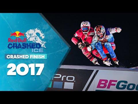 Men's Final Crashed Ice Saint Paul: Red Bull Crashed Ice 2017