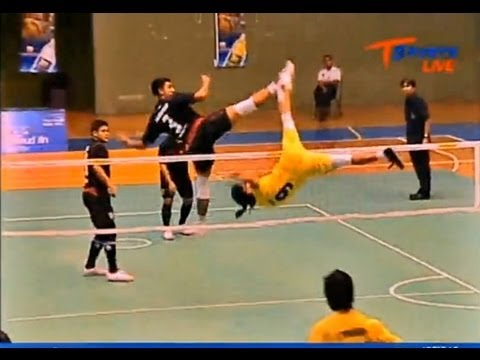 Sisaket - Nakhon Pathom Takraw Thailand League 2012 (2nd)