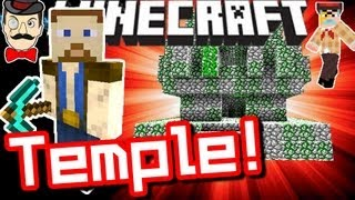 Minecraft CHUCK NORRIS TEMPLE Seed !