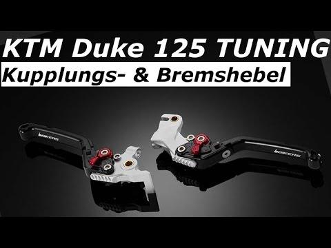 KTM Duke 125 Tuning | Bikers Kupplungs- & Bremshebel