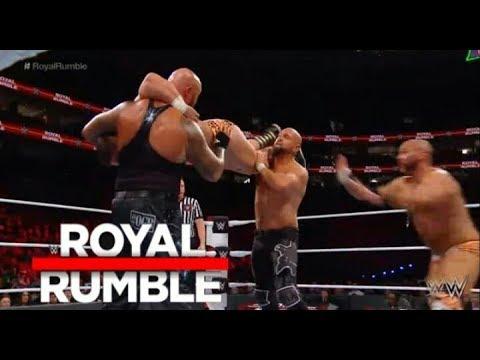 Revivals Vs Luke Gallows & Karl Anderson Full Match - WWE Royal Rumble Kickoff 28 January 2018