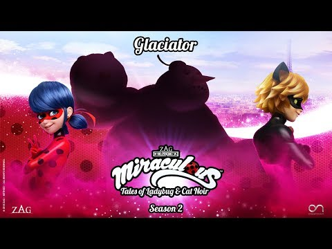 MIRACULOUS   🐞 GLACIATOR - OFFICIAL TRAILER 🐞   Tales of Ladybug and Cat Noir