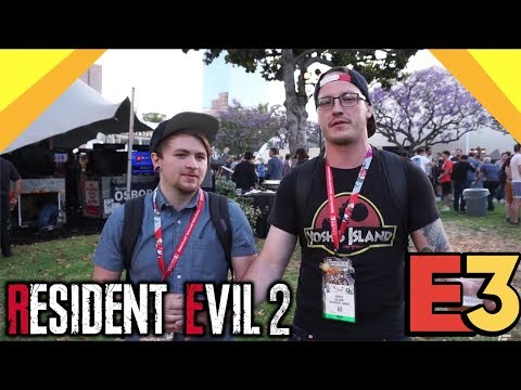Resident Evil 2 FIRST REACTION... It's EVERYTHING We Wanted!! | PlayStation Enthusiast