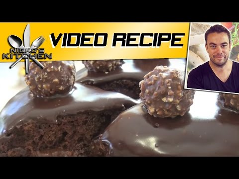 NUTELLA & FERRERO CHOCOLATE CAKE – Nicko's Kitchen
