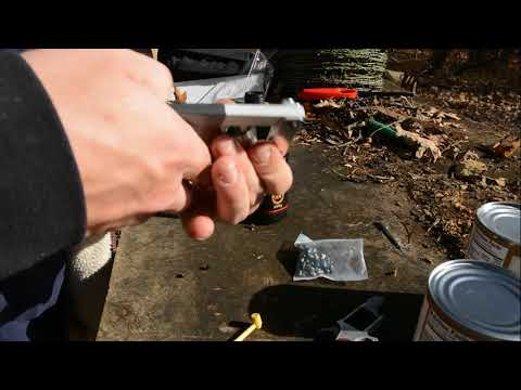 review OF NAA BLACK POWDER 22 REVOLVER AND TESTING
