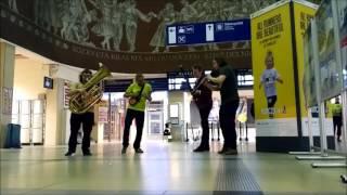 Video Šoulet na nádraží v Olomouci ve středu 29.3.2017 ve 23:35