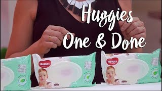 Huggies One & Done