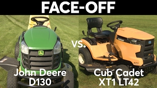 8. Tractor Face-Off: John Deere vs. Cub Cadet  | Consumer Reports