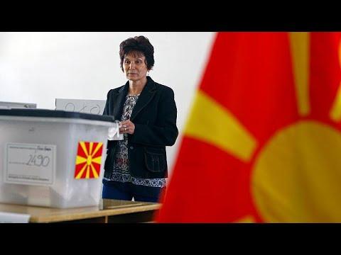 Βόρεια Μακεδονία: Σε εξέλιξη οι κρίσιμες προεδρικές εκλογές…