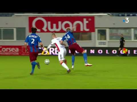 Ligue 2 : Gazélec-Ajaccio 3 - 4 Valenciennes