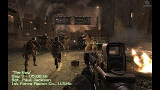 Video WELCOME TO HELL ! US Marines in Heavy Combat ! Call of Duty 4 Modern Warfare 1 MP3, 3GP, MP4, WEBM, AVI, FLV Maret 2018