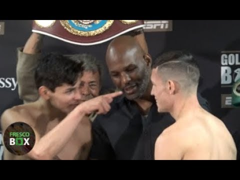 WHOA! RYAN GARCIA & JAYSON VELEZ WEIGH-IN, MISS WEIGHT, THEN TRASH TALK EACH OTHER!