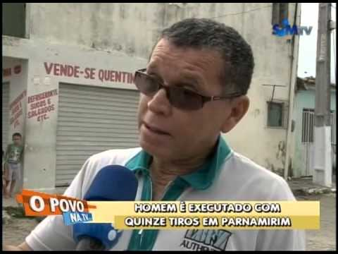 Homem é executado com quinze tiros em Parnamirim/RN