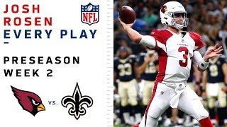 Every Josh Rosen Play vs. Saints by NFL