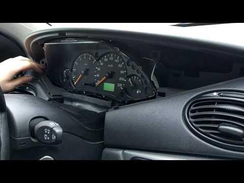 форд фокус 1 снятие панели приборов