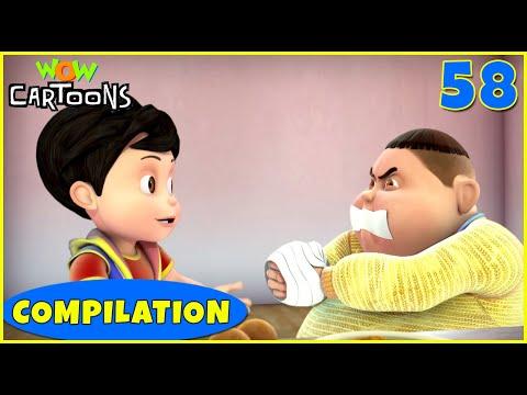 Vir the robot boy | Action Cartoon Video | New Compilation - 58 | Kids Cartoons | Wow Cartoons