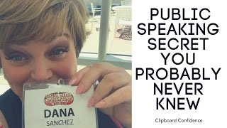 #18 One Life Changing Public Speaking Secret