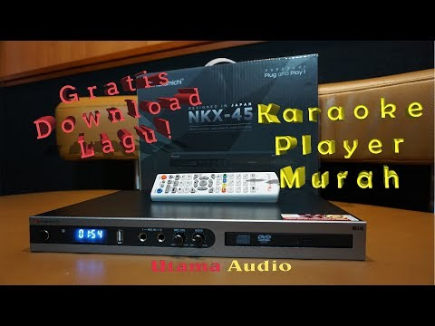 Nakamichi Karaoke Player NKX 45 - Utama Audio