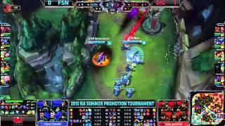 Summer Promotion NA 2015 - DIG vs FSN