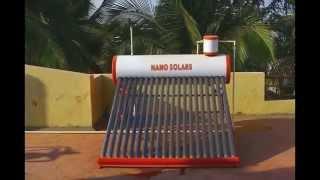 NANO SOLARS- WATER HEATER- ET