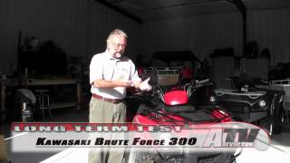 11. ATV Television - 2012 Kawasaki Brute Force 300 Long Term Test