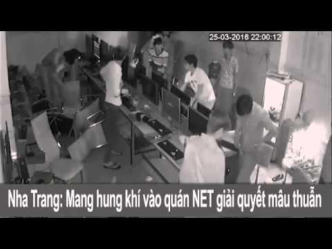 Nha Trang: Trẻ trâu mang hung khí vào tiệm net hành xử - Thời lượng: 1:11.