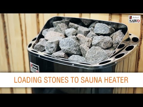 Stainless heaters - stones