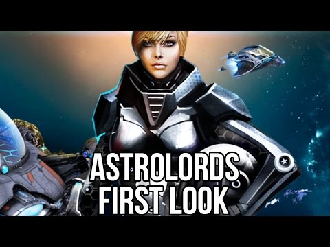 Astro Lords (Free MMORTS Game): Watcha Playin'? Gameplay First Look