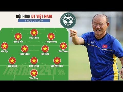 Phân tích đội hình tuyển Việt Nam đá King Cup 2019 khiến Thái Lan lại lo sợ @ vcloz.com