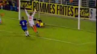 Johan Cruyffs Tor gegen Brasilien (WM 1974)