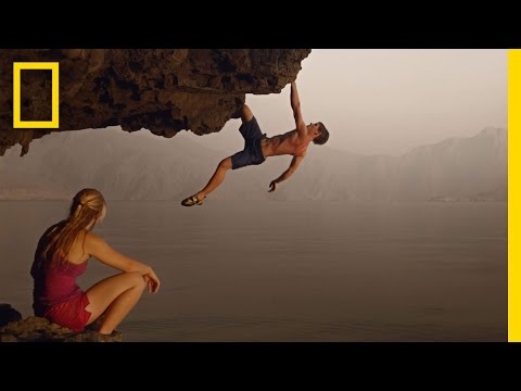 Gorgeous Video%3A Rock Climbing in Oman