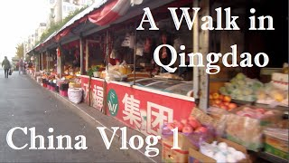 Qingdao China  city pictures gallery : A Walk in Qingdao | China Vlog 1