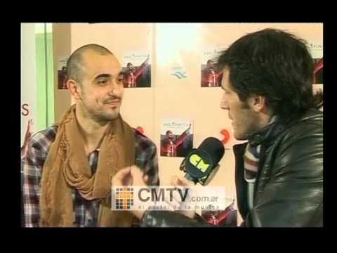 Abel Pintos video Entrevista 03-07-2012 - Presentación Sueño Dorado