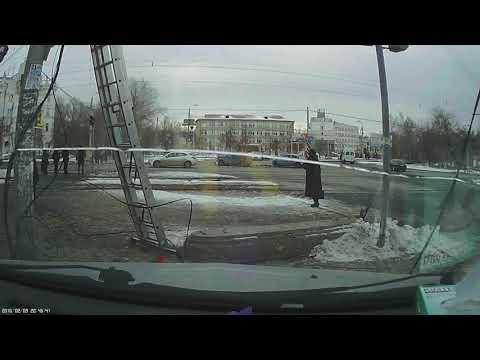 ДТП в Челябинске на шоссе Металлургов