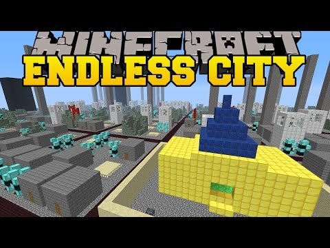 City - The Endless City Mod adds a new Survival Mode that turns Minecraft into a huge city with structures to explore! Like my Facebook! http://www.facebook.com/pages/PopularMMOs/327498010669475 ...